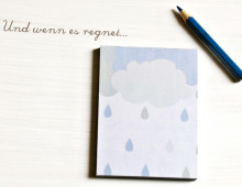 """""""Und wenn es regnet"""" ein ganz besonderer Block"""
