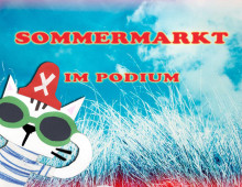 Sommermarkt im Podium