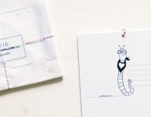 2016 wird kunterbunt ein Postkartenkalender