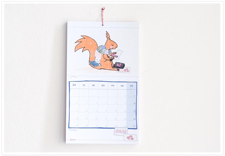 Postkartenkalender