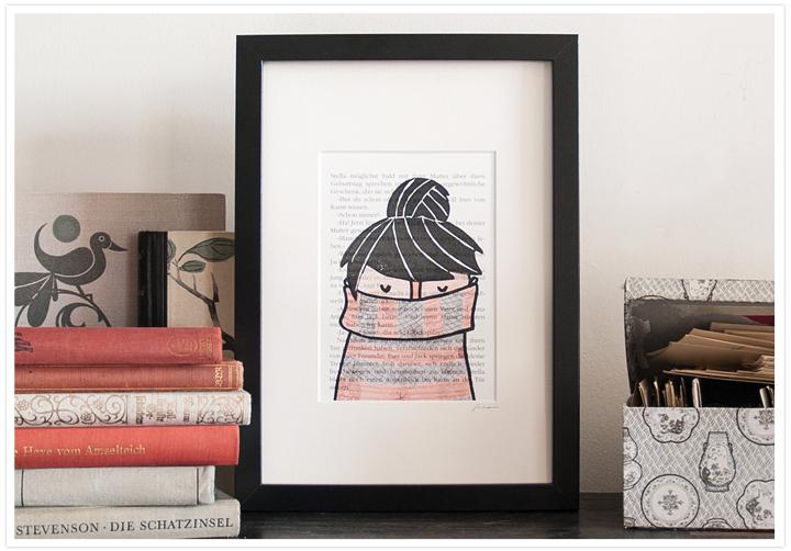 Buchgrafiken littleprintstore