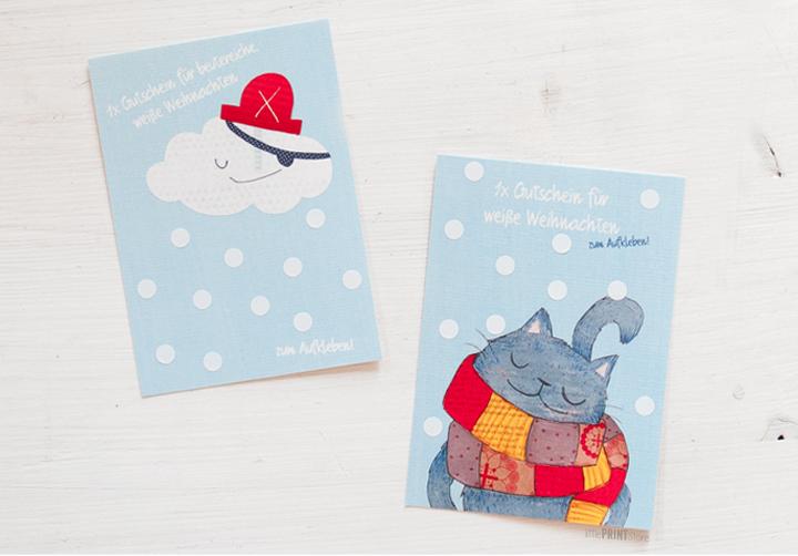 papeterie-illustration-gutschein-weihnachten-postkarte-Weiße Weihnachten