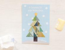 Weiße Weihnachten zum Selberaufkleben