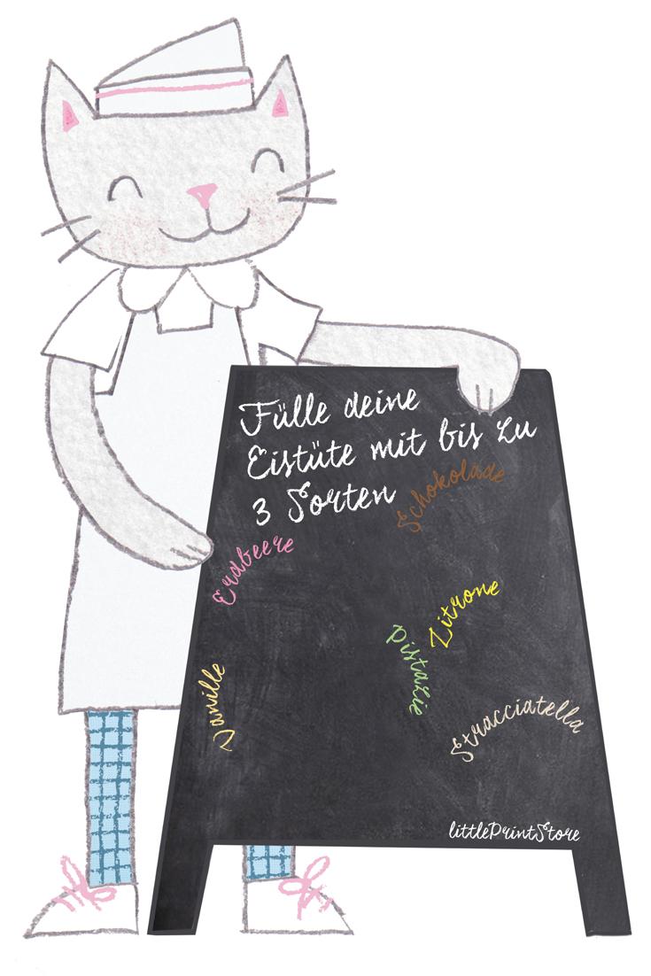 papier-verpackung-design-illustration-eis-eisverkäufer