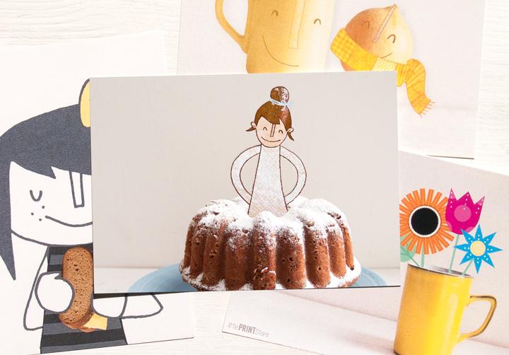 mehlspeiße-illustration-papeterie-postkarte-grusskarte-grafik-wien-gugelhupf