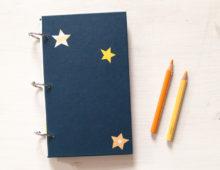 Eine Reise durchs Weltall Notizbuch