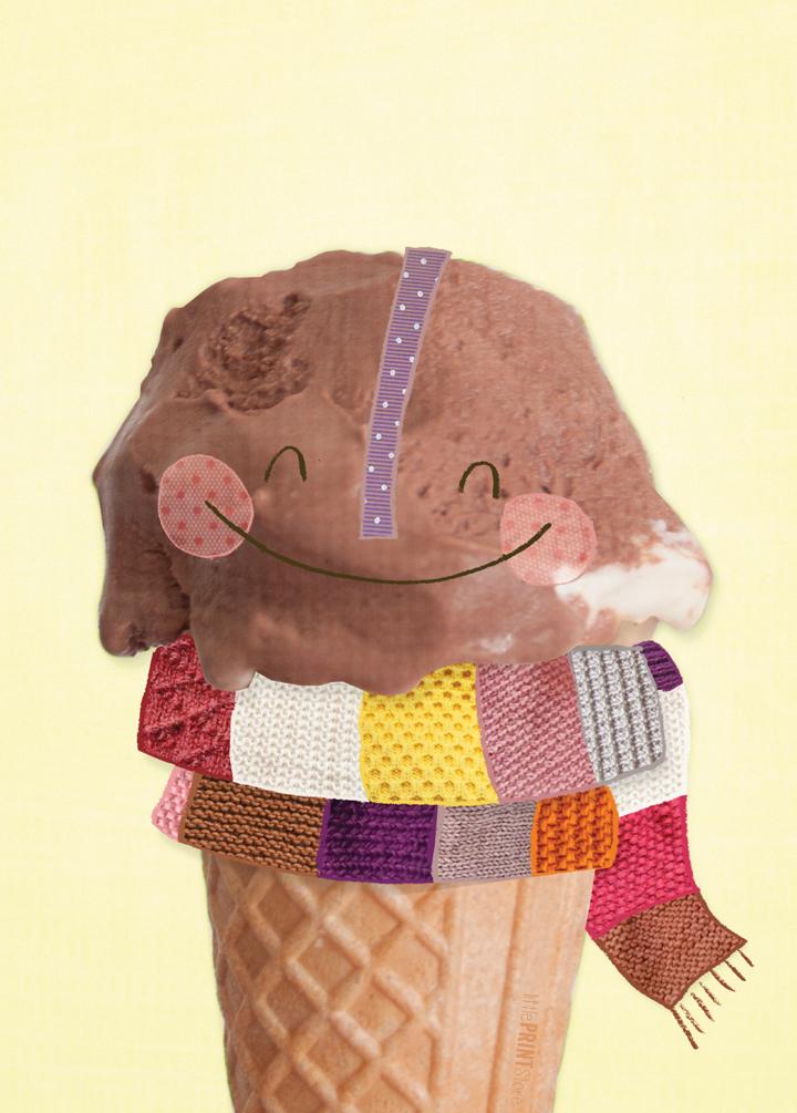 illustration-sommer-karte-eis-schokolade