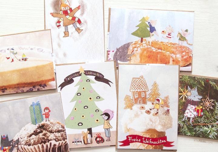 weihnachts-karten-illustration-suesse-weihnachten-märchen