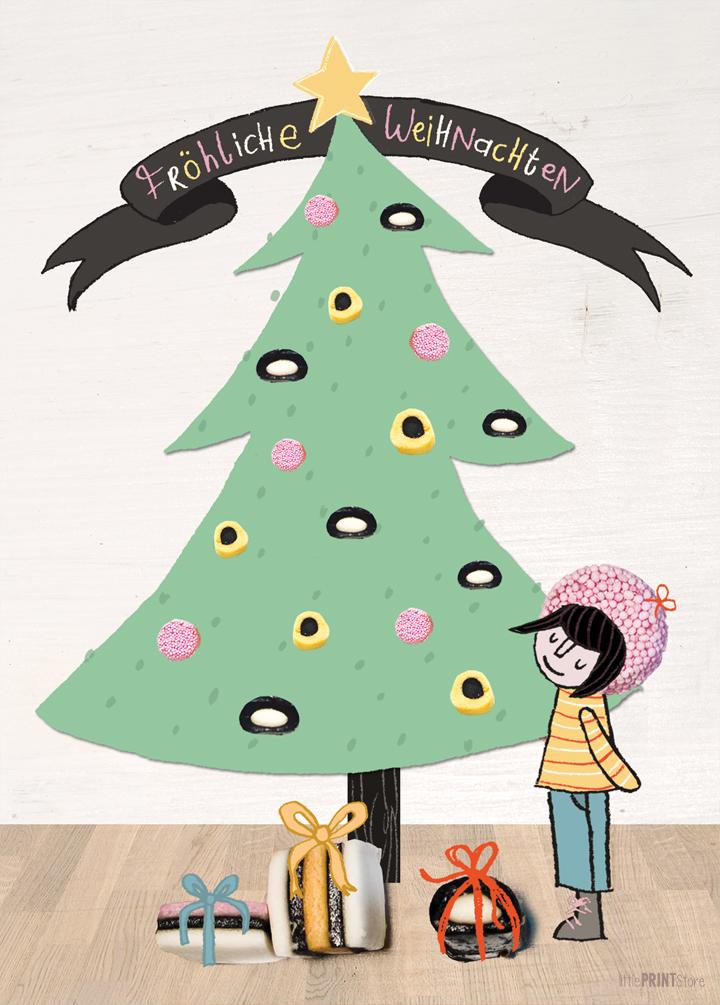illustration-mehlspeisen-suesses-suesspeisen-torte-kuchen-weihnachten-weihnachtsbäckerei-süße-weihnachtszeit