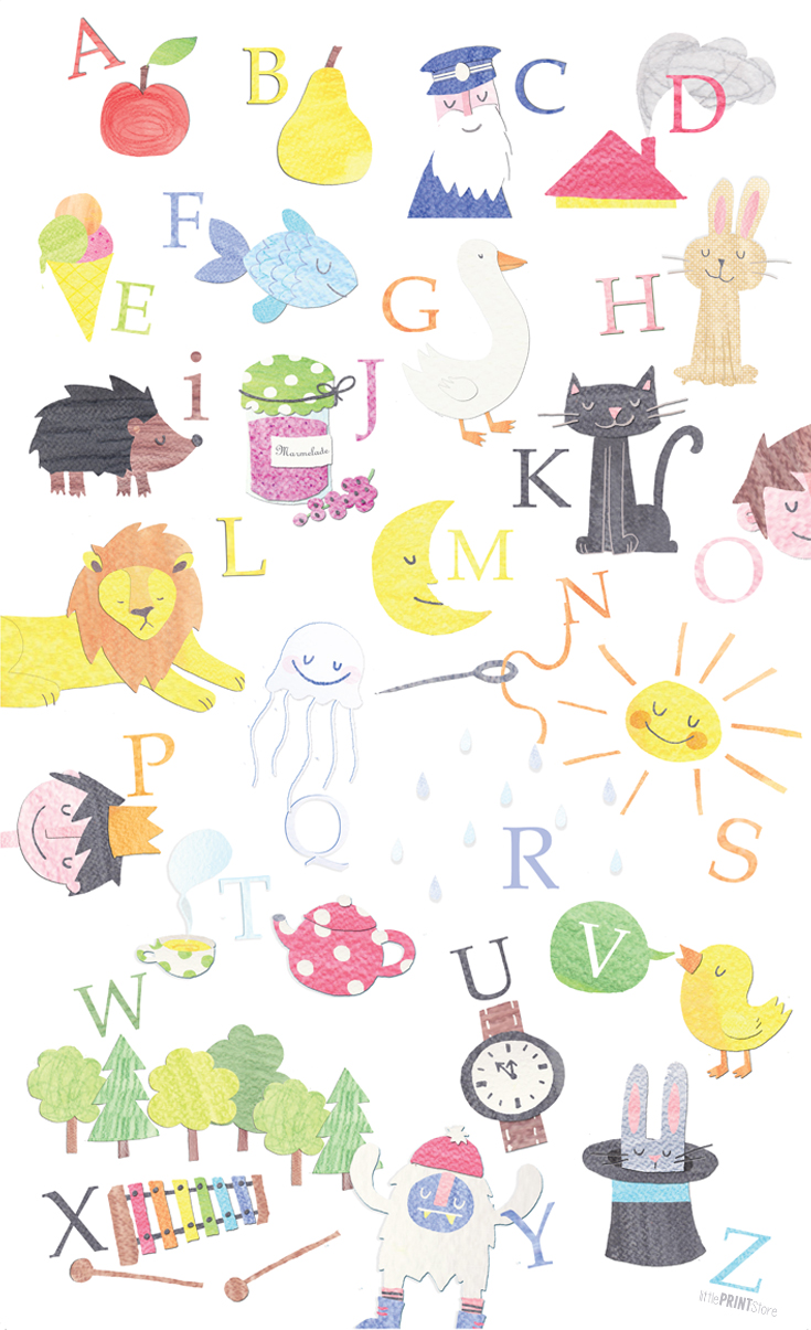 illustration-papeterie-kinderzimmer-abc-lernhilfe-poster-bild