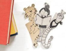 Lesezeichen für Bücherwürmer