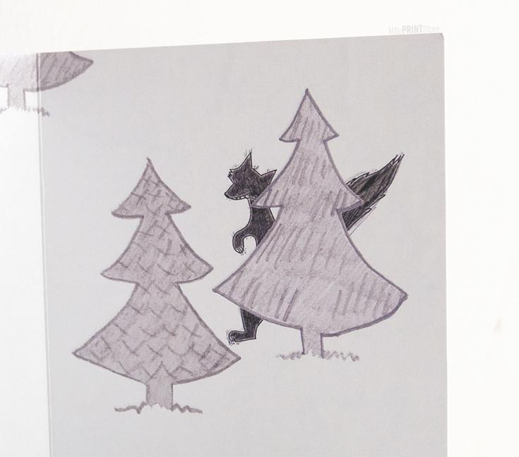 papeterie-illustration-design-weihnachtskarte-kartendesign-märchen-märchenhafte-Weihnachtskarten