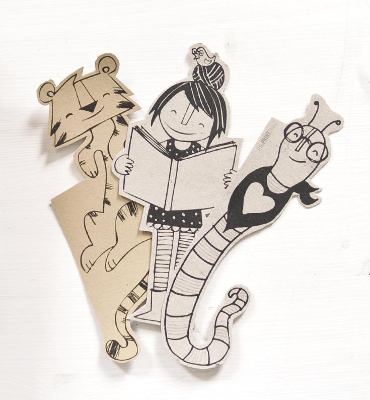 buch-lesen-illustration-papeterie-handmade-bookmark-reading-paperwork-stationary-illustration-design