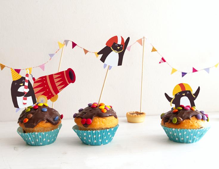 cake-topper-kinder-geburtstag-pinguin-zirkus